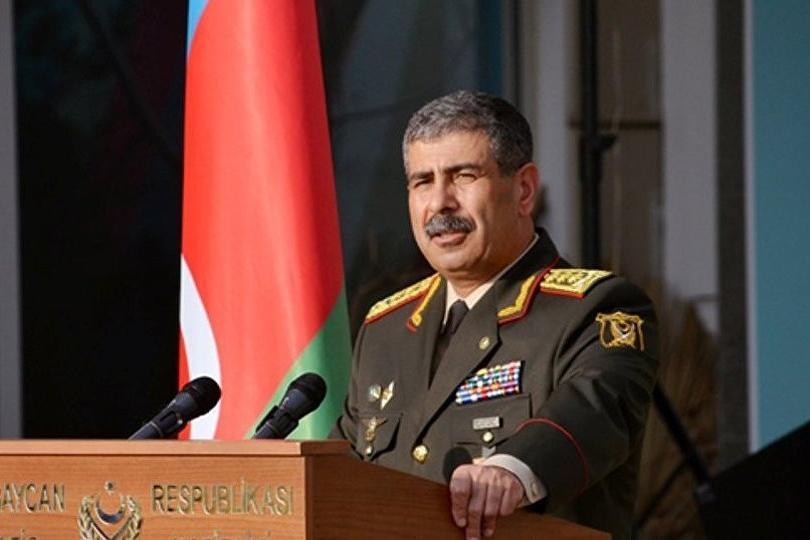 Министр обороны Азербайджана Закир Гасанов отправился с ...